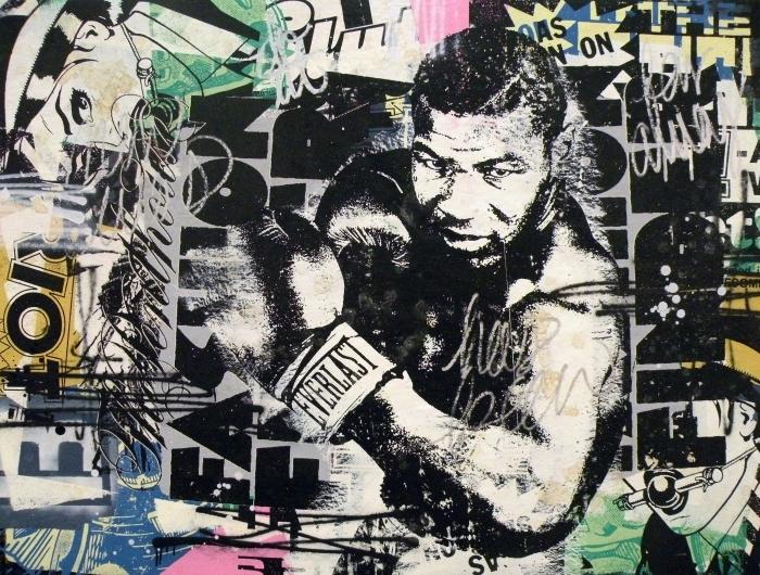 Papier peint vinyle Banksy -