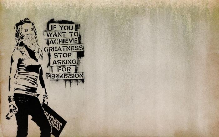 Fotomural Estándar Banksy - Temas