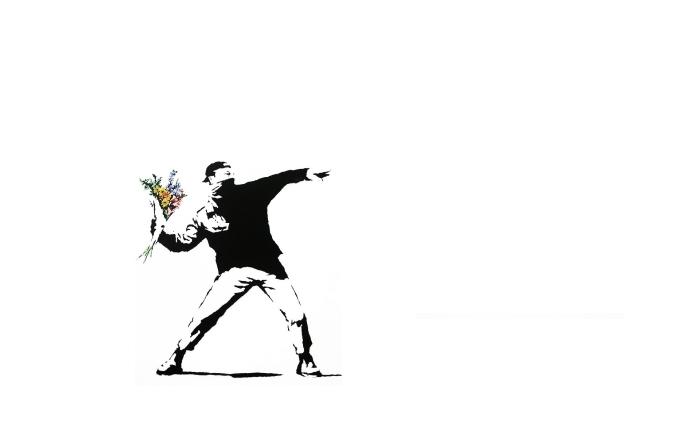 Fototapeta winylowa Banksy - Tematy