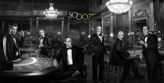Papier peint vinyle James Bond - Thèmes