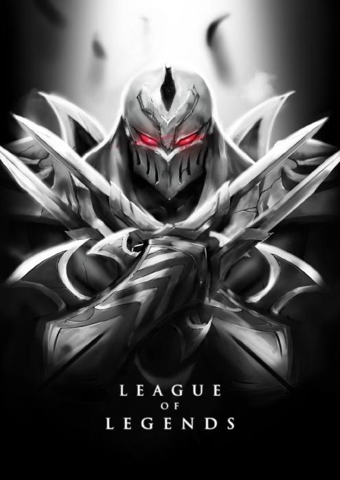 Fototapeta winylowa Zed - League of Legends - Tematy