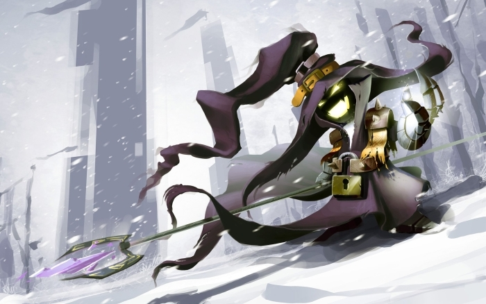 Naklejka Pixerstick Veigar - League of Legends - Tematy