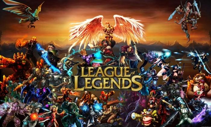 Fototapeta winylowa League of Legends - Tematy