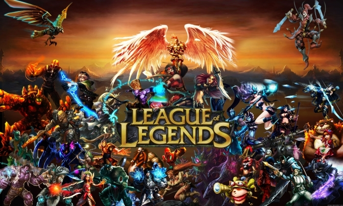 Vinilo Pixerstick League of Legends - Temas