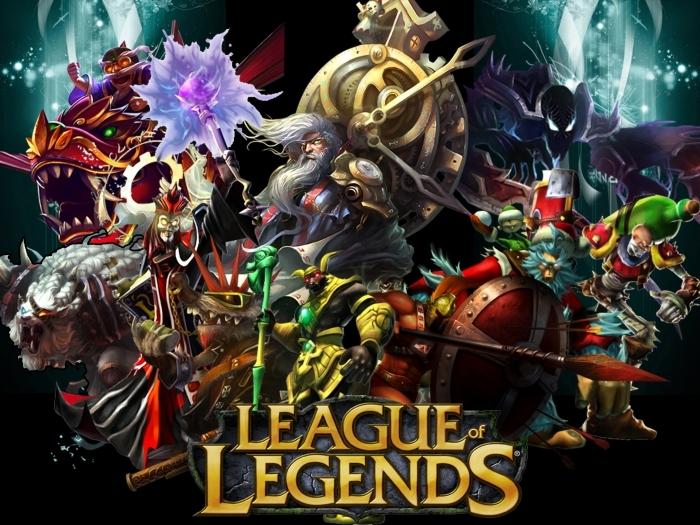League of Legends Pixerstick Sticker - Themes