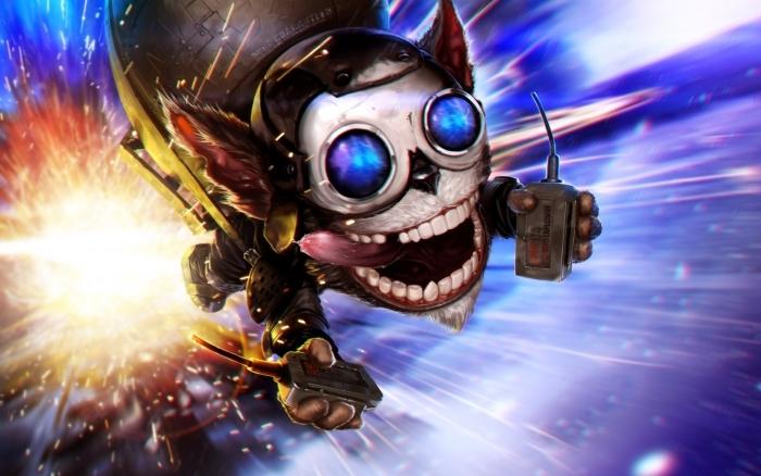 Naklejka Pixerstick League of Legends - Tematy