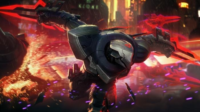 Vinilo Pixerstick Zed - League of Legends - Temas
