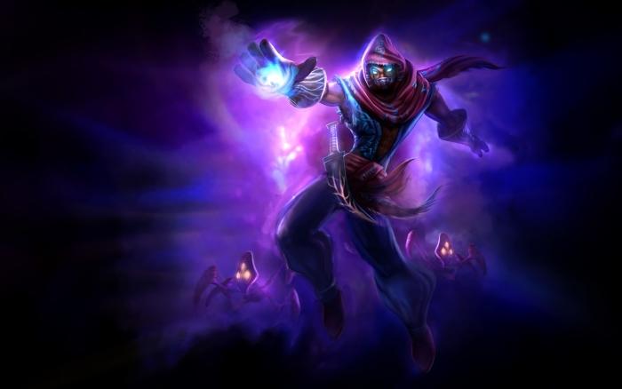 Naklejka Pixerstick Malzahar - League of Legends - Tematy