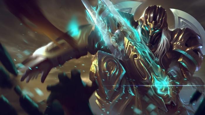 Carta da Parati Zed - League of Legends • Pixers® - Viviamo per il  cambiamento