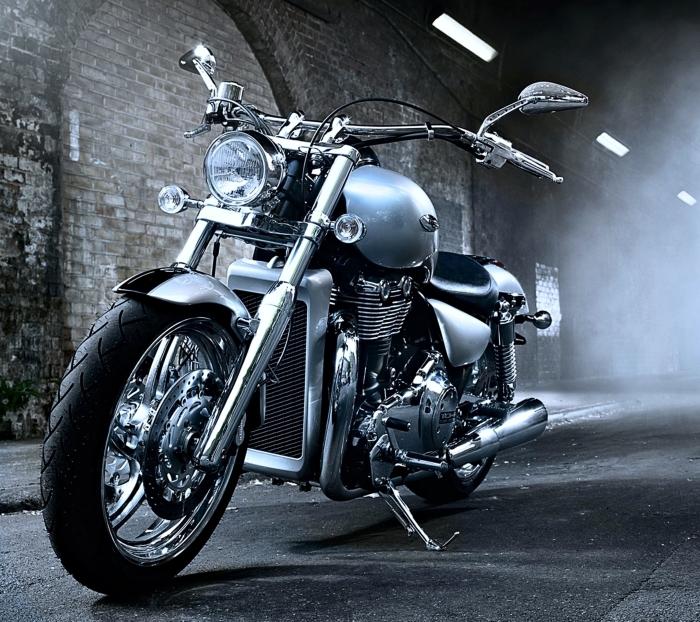 Fototapeta winylowa Harley Davidson - Tematy