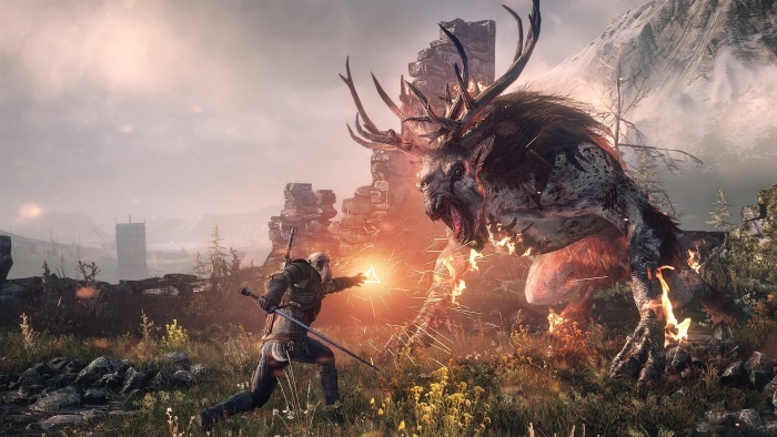 Fototapeta winylowa The Witcher 3 - PI-31
