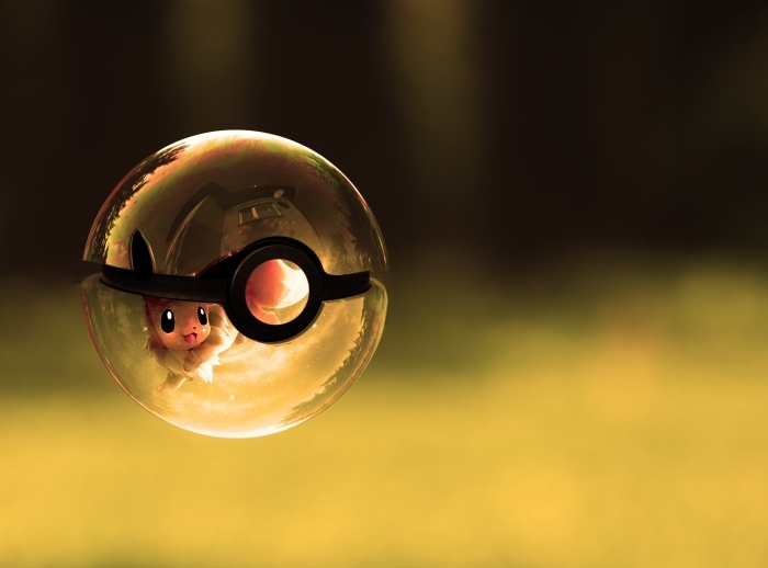 Naklejka Pixerstick Pokemony - Tematy