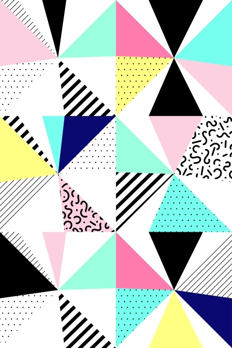 Vinylová fototapeta Bezešvé geometrický vzor - Vinylová fototapeta