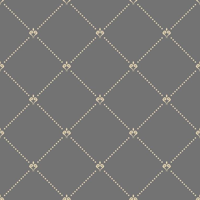 Carta Da Parati Moderna Texture.Carta Da Parati Disegno Geometrico Oro Punteggiata Vettore Seamless