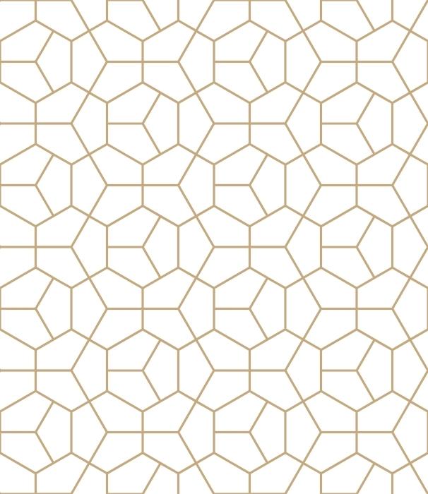 Carta Da Parati Geometrica.Carta Da Parati Geometria Oro Pixers Viviamo Per Il Cambiamento
