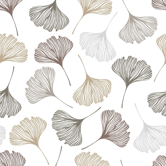 ginkgo leaves Vinyl Wall Mural - graphics