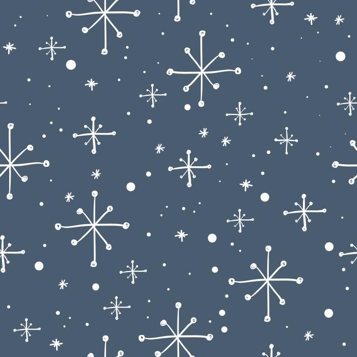 Çıkartması Pixerstick Kar taneleri -