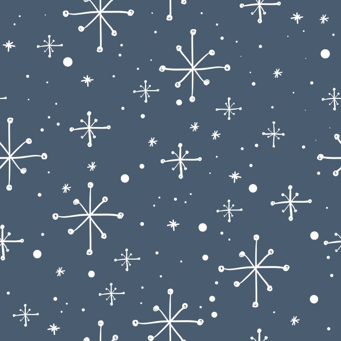 snowflakes Pixerstick Sticker -