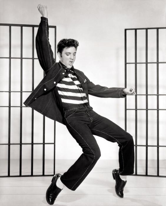 Elvis Presley Pixerstick Sticker - Elvis Presley