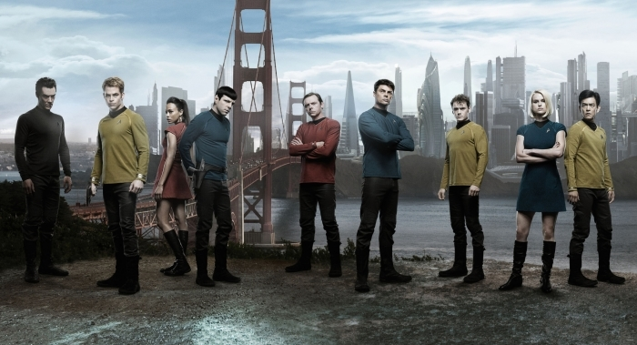Papier peint vinyle Star Trek - Criteo