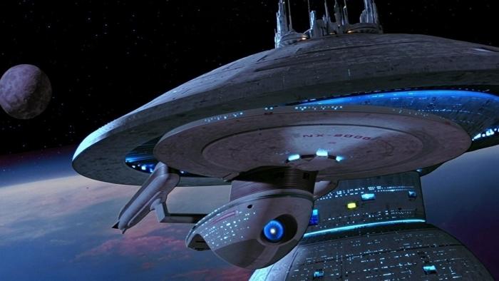 Ship from Star Trek Vinyl Wall Mural - Criteo