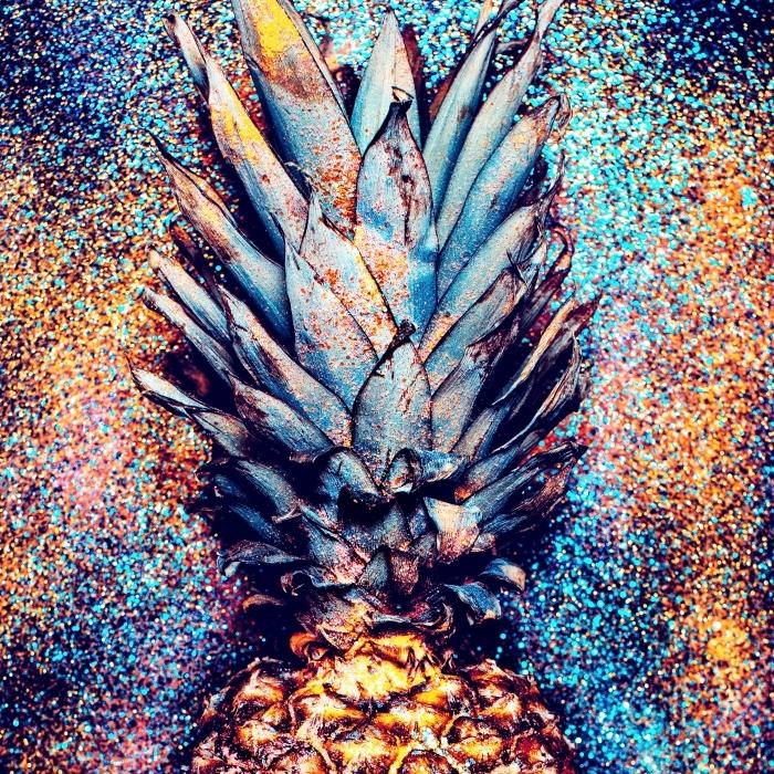 Papier peint vinyle Ananas service de style de la mode Minimalisme - iStaging