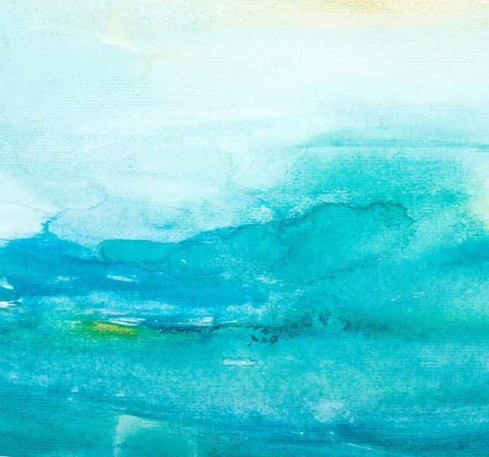 Adesivo Pixerstick colore colpi pittura ad acquerello arte -