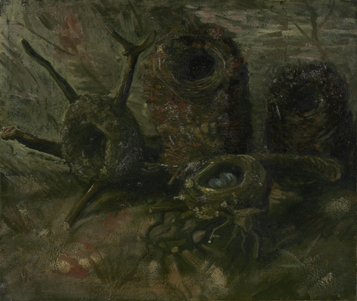Plakat Vincent van Gogh - Ptasie gniazda - Reproductions