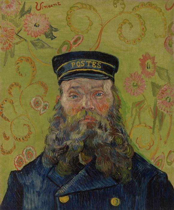 Sticker Pixerstick Vincent van Gogh - Joseph-Etienne Roulin - Reproductions