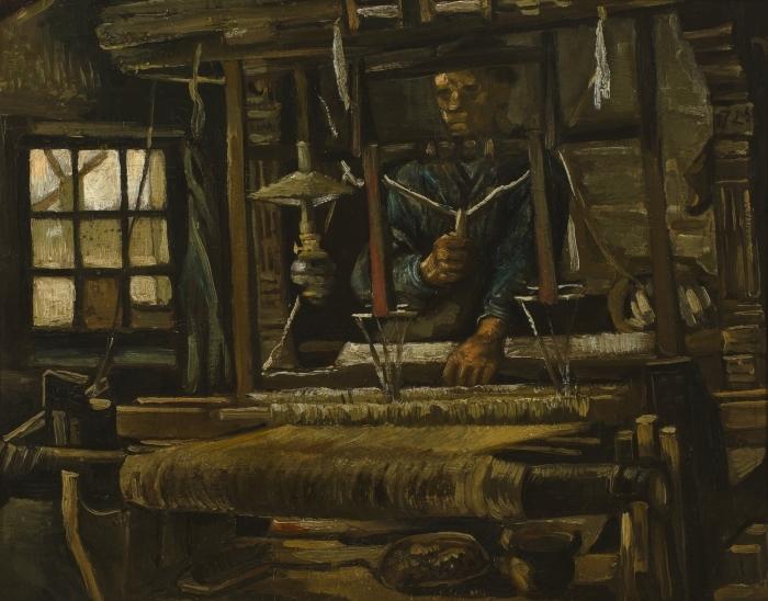 Papier peint vinyle Vincent van Gogh - Tisserand - Reproductions