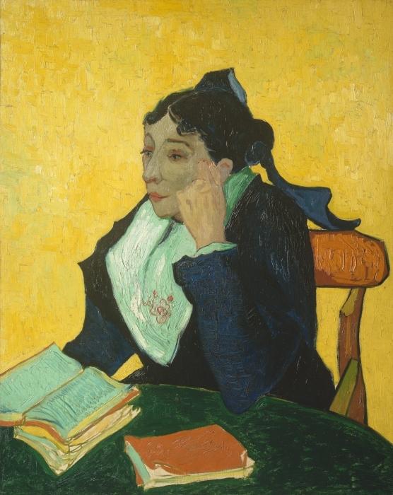 Sticker Pixerstick Vincent van Gogh - L'Arlésienne - Reproductions