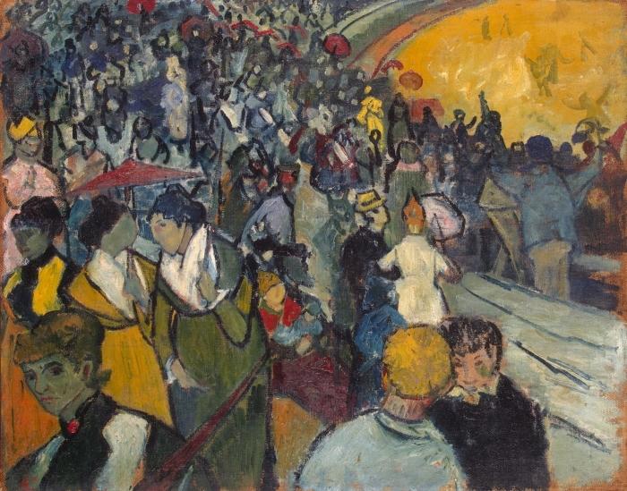 Naklejka Pixerstick Vincent van Gogh - Arena w Arles - Reproductions