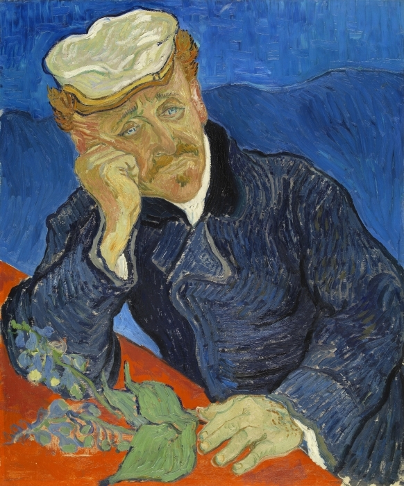 Pixerstick Aufkleber Vincent van Gogh - Dr. Paul Gachet - Reproductions