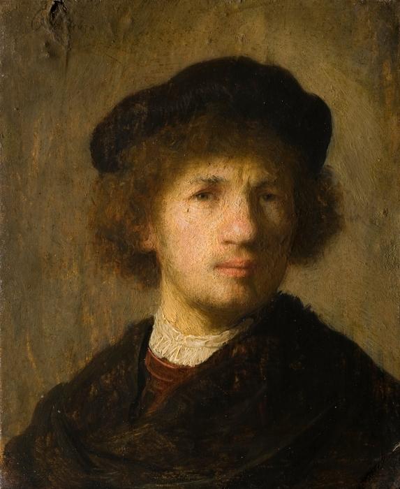 Fototapeta winylowa Rembrandt - Autoportret - Reprodukcje