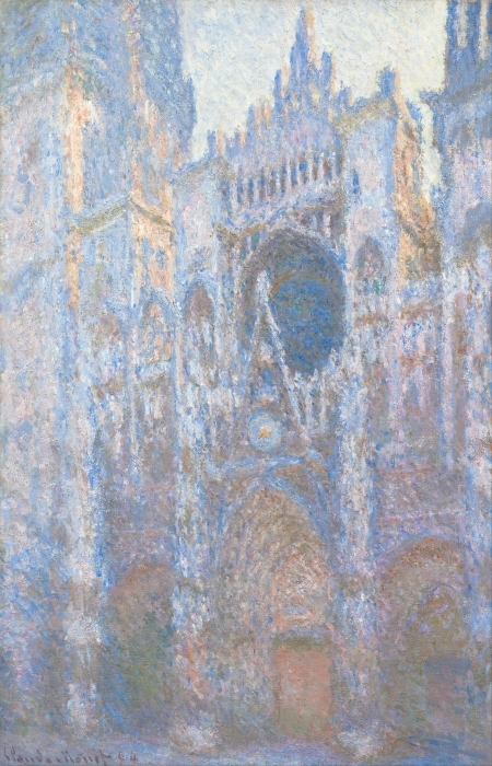Papier peint vinyle Claude Monet - La Cathédrale de Rouen - Reproductions