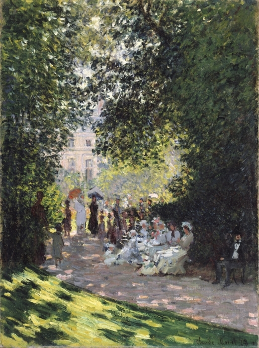 Sticker Pixerstick Claude Monet - Parc Monceau - Reproductions