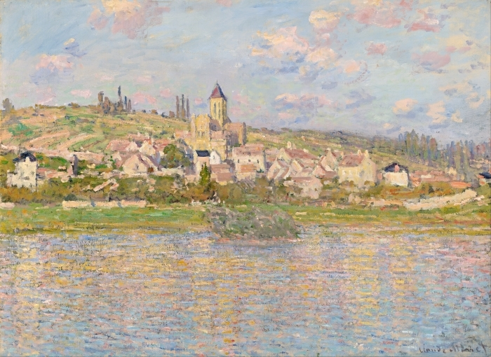 Naklejka Pixerstick Claude Monet - Vetheuil - Reprodukcje