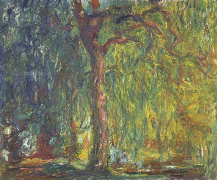 Claude Monet - Weeping Willow Poster - Reproductions
