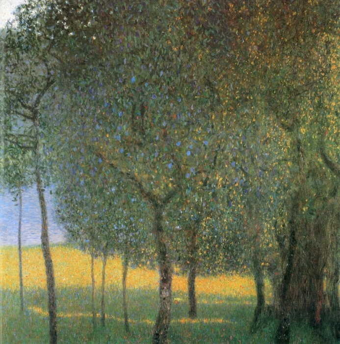 Fototapeta winylowa Gustav Klimt - Drzewa owocowe w Attersee - Reprodukcje