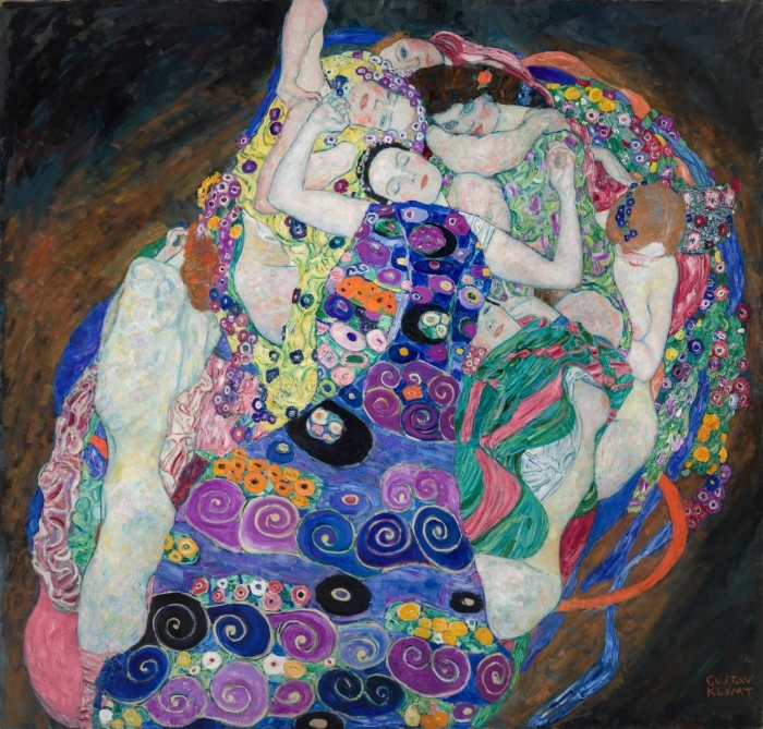 Poster Gustav Klimt - Die Jungfrau - Reproduktion