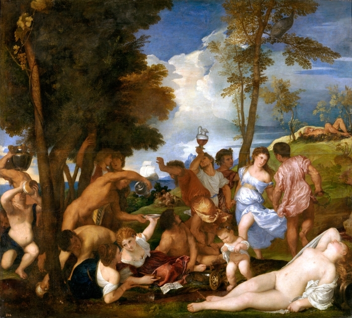 Vinilo Pixerstick Tiziano - Los andrios - Reproducciones