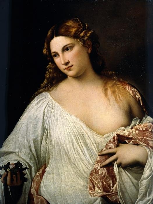 Fotomural Estándar Tiziano - Flora - Reproducciones