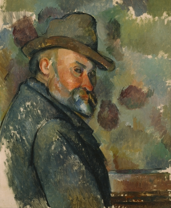 Sticker Pixerstick Paul Cézanne - Autoportrait - Reproductions