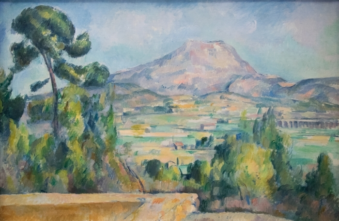 Paul Cézanne - Sainte-Victoire Mountain Vinyl Wall Mural - Reproductions