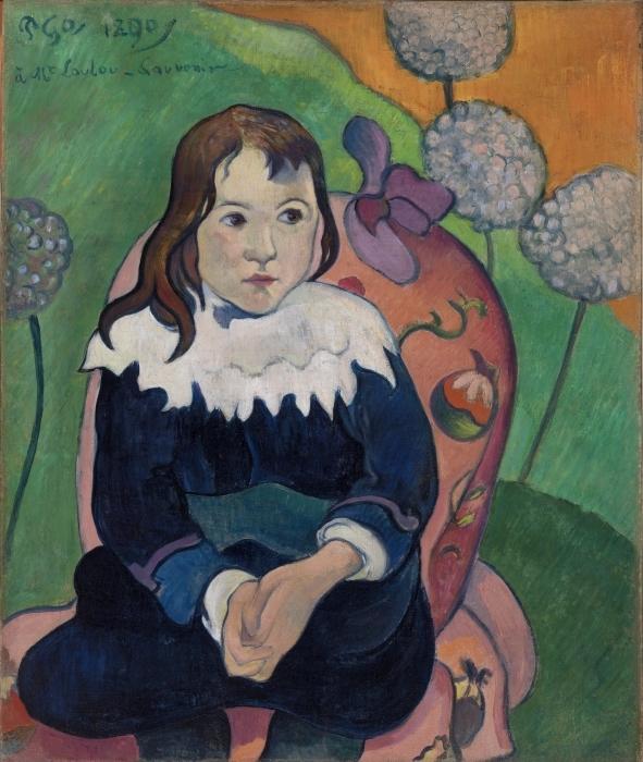Naklejka Pixerstick Paul Gauguin - M. Loulou - Reprodukcje