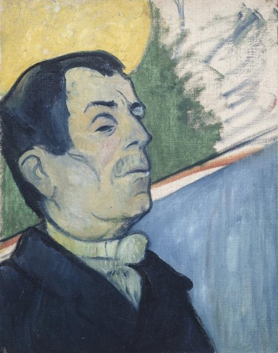 Naklejka Pixerstick Paul Gauguin - Pan Ginoux - Reprodukcje