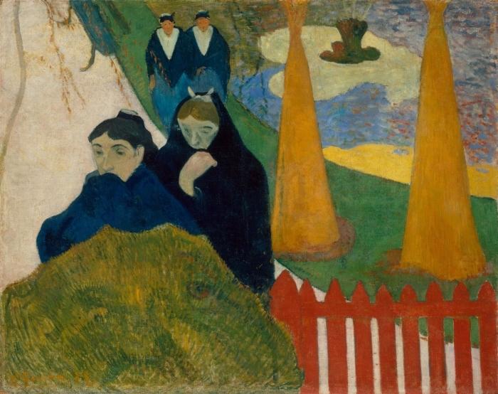 Naklejka Pixerstick Paul Gauguin - Mistral - Reprodukcje