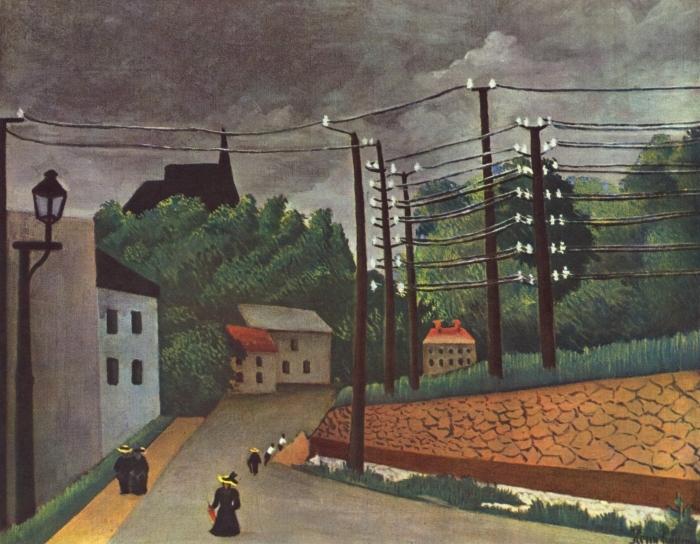 Papier peint vinyle Henri Rousseau - Malakoff - Reproductions