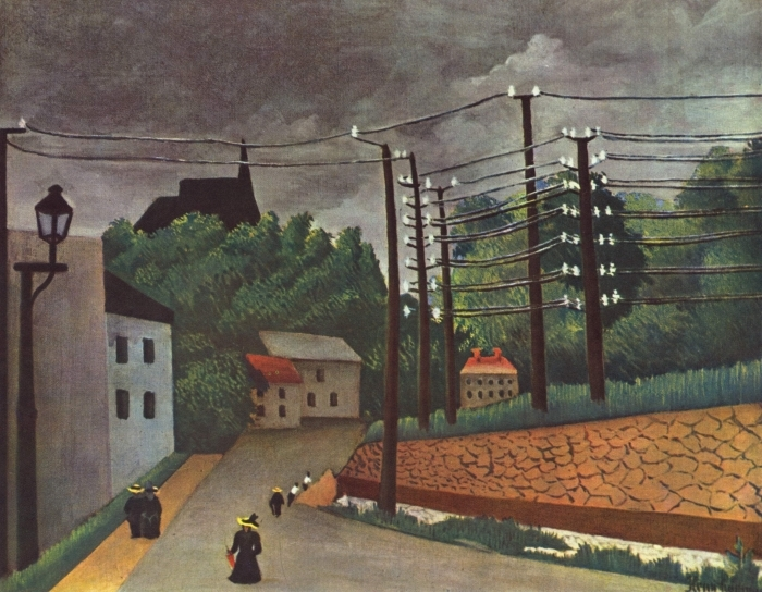 Henri Rousseau - View of Malakoff Vinyl Wall Mural - Reproductions