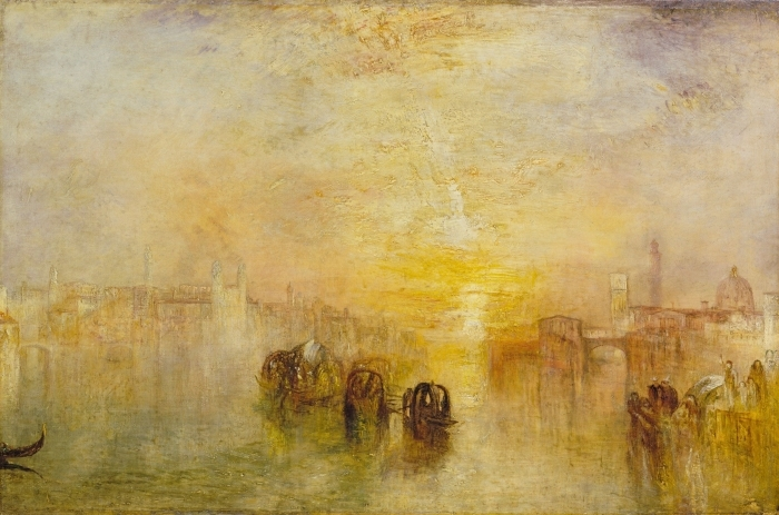 Papier peint vinyle William Turner - Going to the Ball (San Martino) - Reproductions